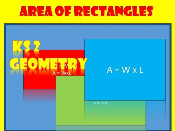 Area of Rectangles: KS2 Worksheets