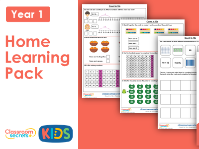 Year 1 Summer Week 2 Home Learning Maths Pack