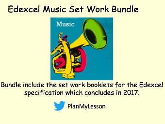 Edexcel set work Music Bundle