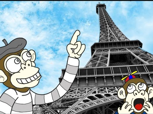 07) Arthur visits Paris - mixed verbs in the passé composé