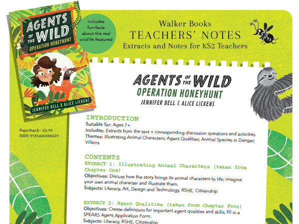 Agents of the Wild Teachers' Notes