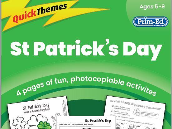 St. Patrick's Day - Quick Themes Lesson Plan KS1 (Age 5-9)
