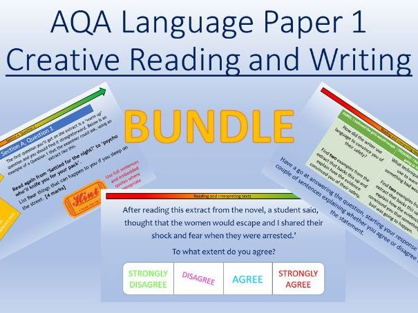 AQA Language Paper 1: Creative Reading and Writing