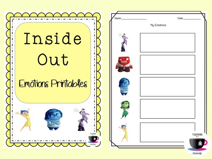 Psche Inside Out Feelings By Jomoody89 Teaching Resources Tes