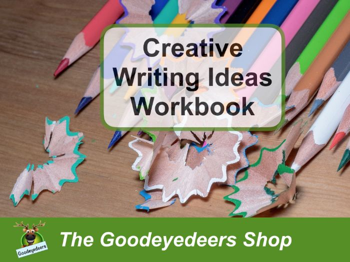 Creative Writing Ideas - Children's Workbook