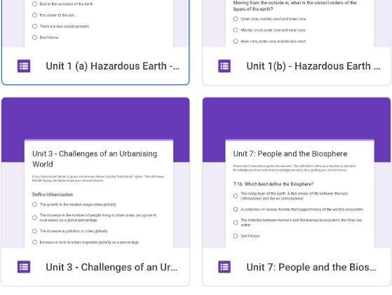 Google Forms Assessment