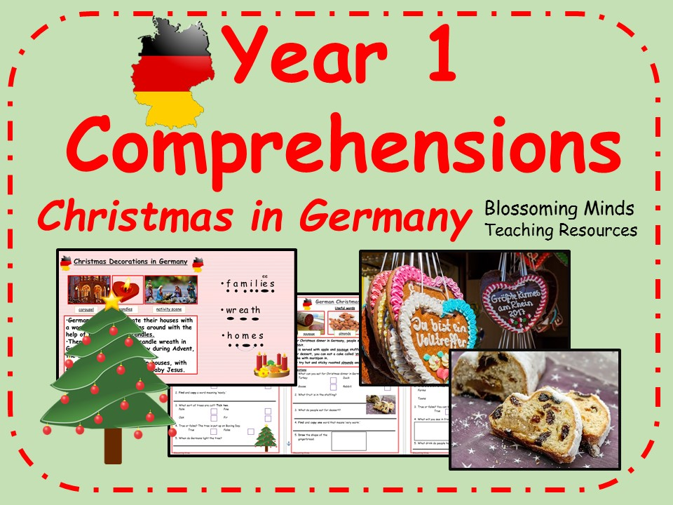 Year 1 comprehensions - Christmas in Germany