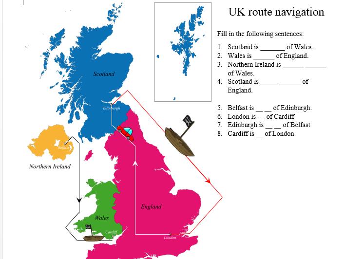 Basic map skills