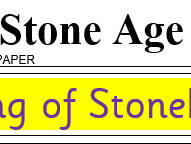 The Stone Age: The Amesbury Archer model newspaper report