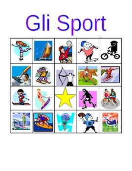 Sport in Italian Bingo