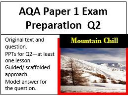 AQA GCSE English Language Paper 1 Exam Preparation Question 2
