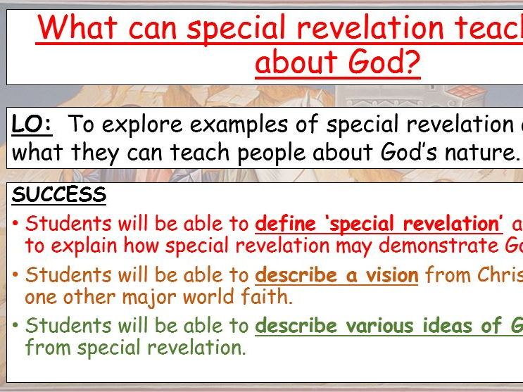 Special Revelation AQA RE GCSE Grade 1-9