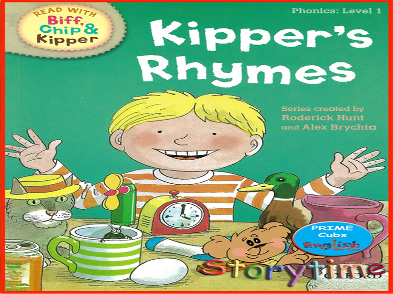 Oxford Reading Tree | Kipper's Rhymes| Level 1