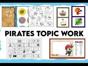 Pirates Topic Resources KS1