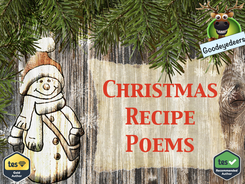 Christmas Poetry - A Ridiculous Recipe to Make a Cool Christmas
