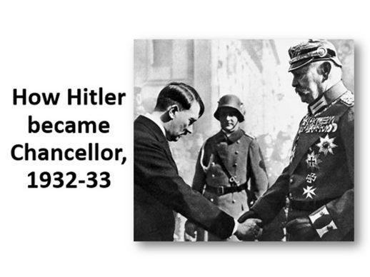 How Hitler became Chancellor, 1932-33