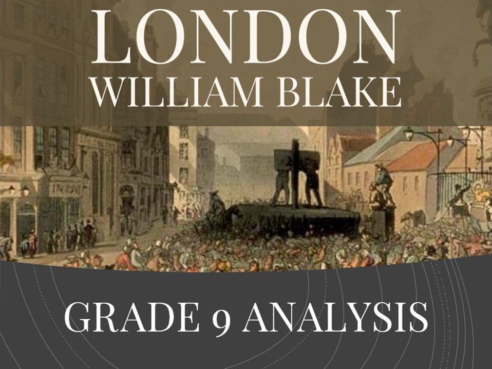 London - Grade 9 quotation analysis & model answers