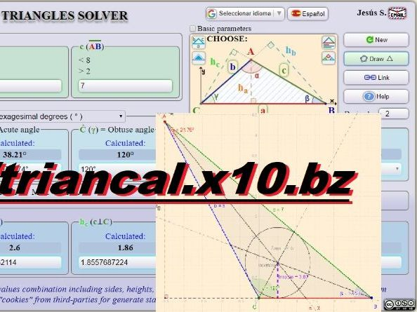 Online Triangle Solver