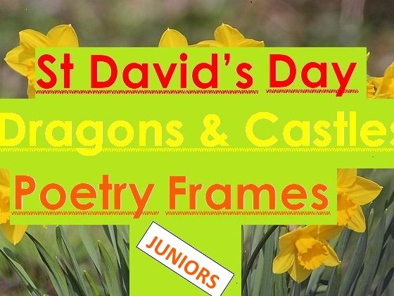 8 Dragon + Castle Poetry Sheets - Juniors