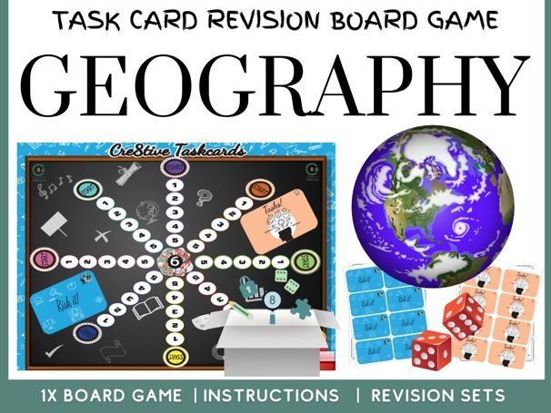 Geography Revision Board Game