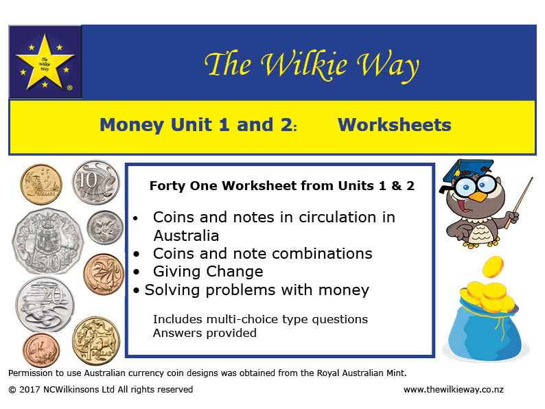 Y3  Money Worksheets