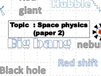 AQA physics GCSE revision booklet space physics topic 8
