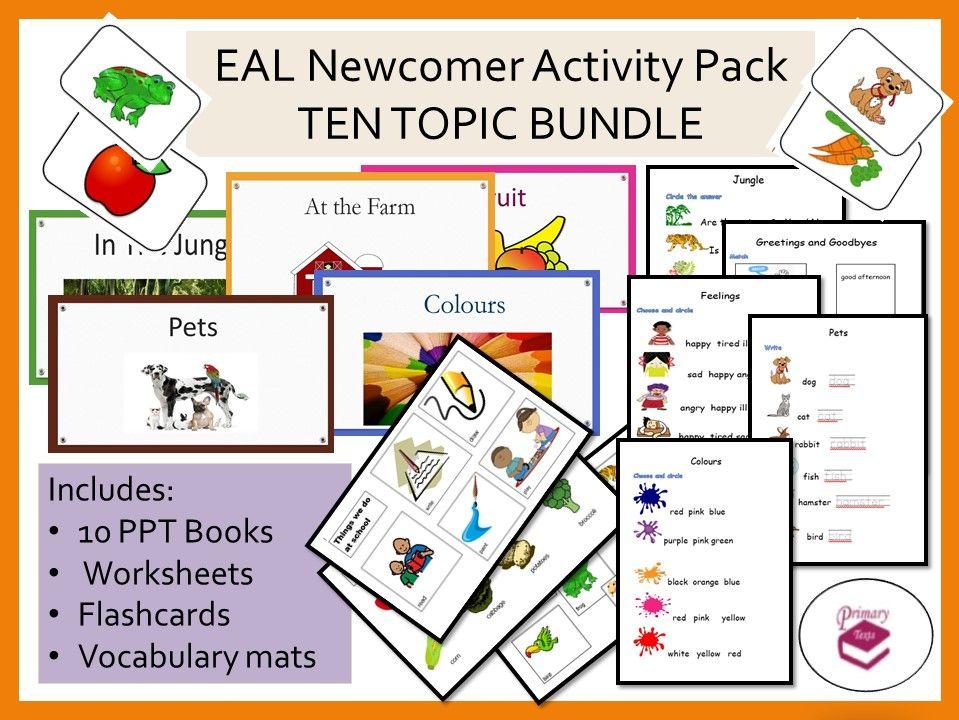 EAL / ESL Newcomer Activity Bundle