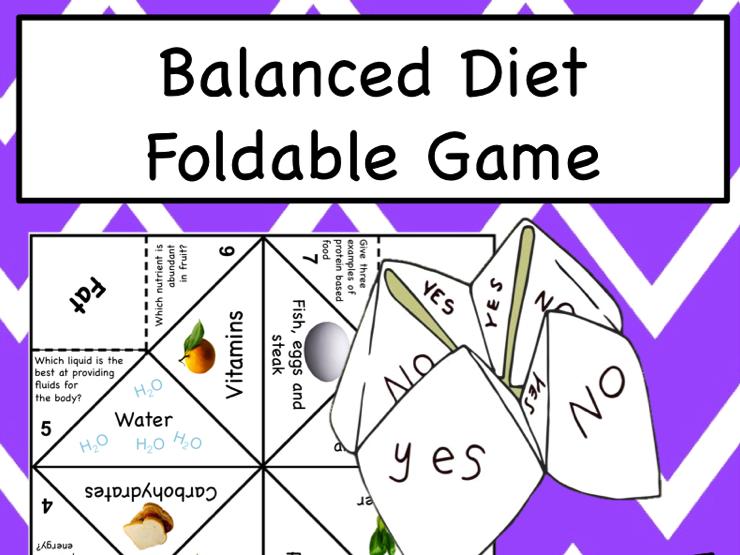 Balanced Diet Game