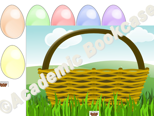 Reward counting chart - Eggs and basket