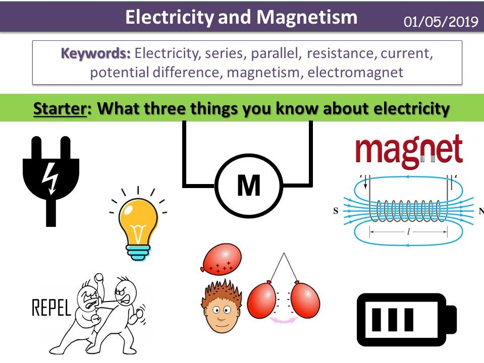 Electricity and Magnetism (Activate KS3)