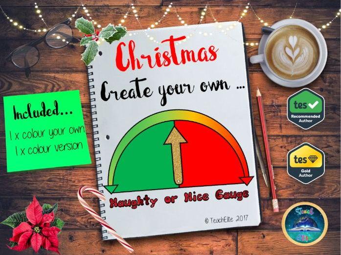 Christmas: Naughty or Nice Reward Gauge