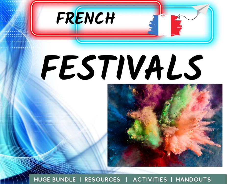 Festivals and Celebrations MFL French
