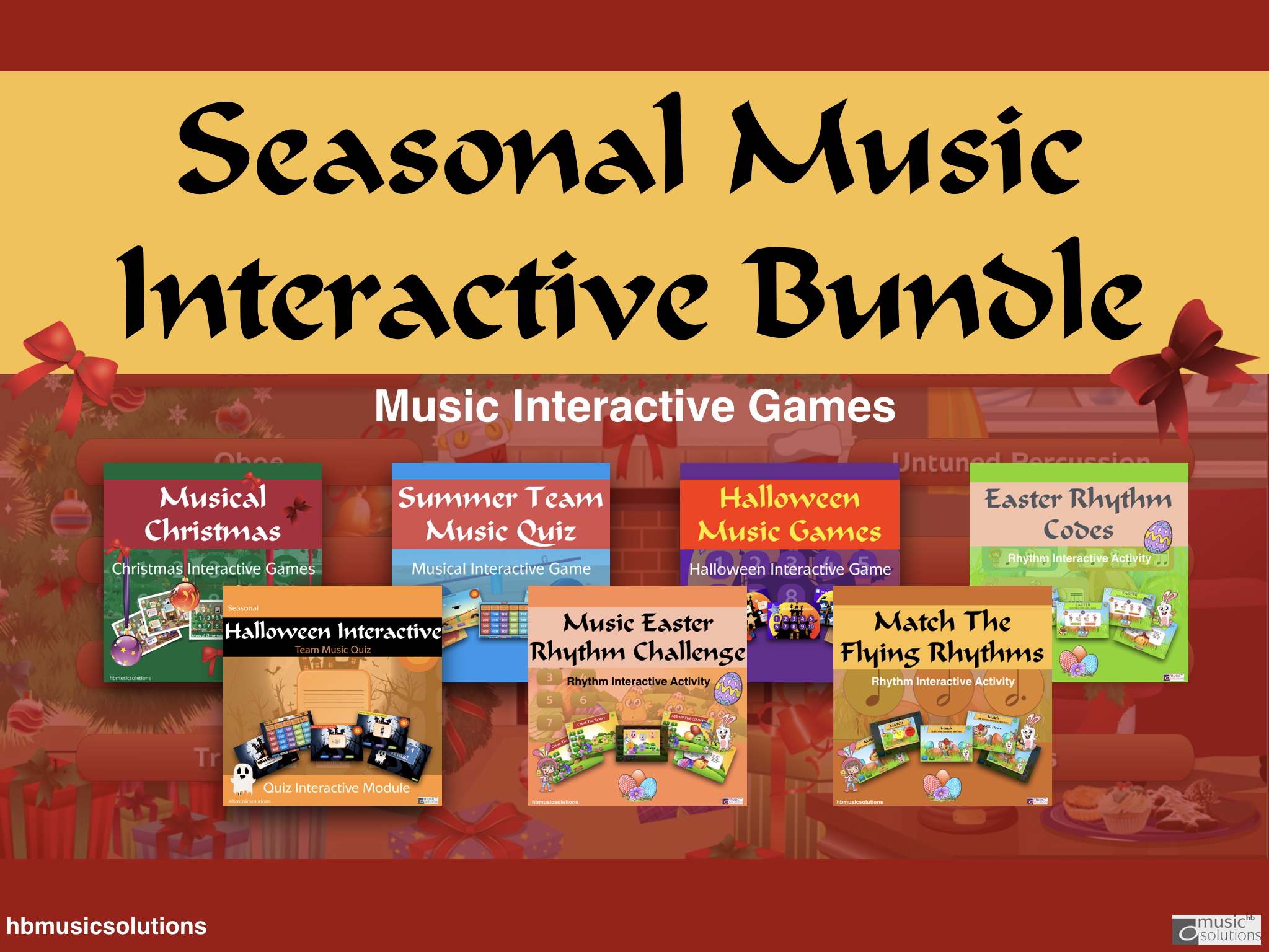 Seasonal Music Interactive Resources