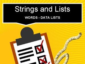 Scratch: Strings and List (Intermediate #9)