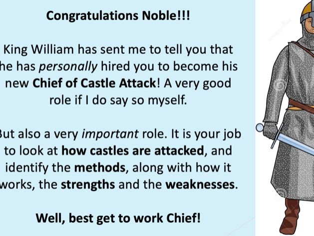 Normans: Attacking Castles