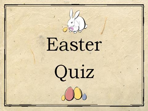 Easter Quiz / Activity Worksheet with Answers – general knowledge about Easter