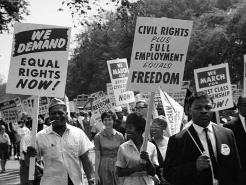 American civil rights movement timeline 1941-2008