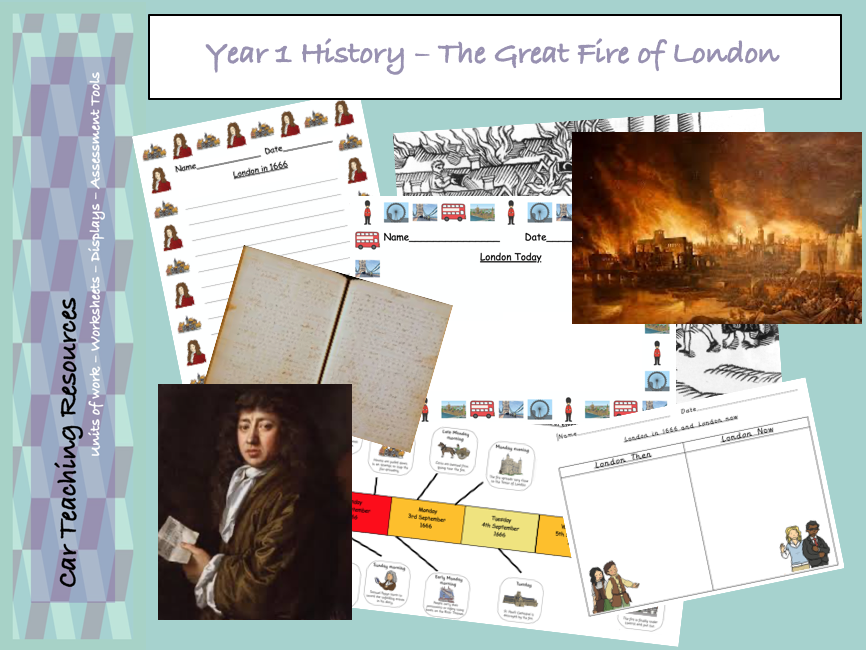 Year 1 History - Great Fire Of London Unit Plan