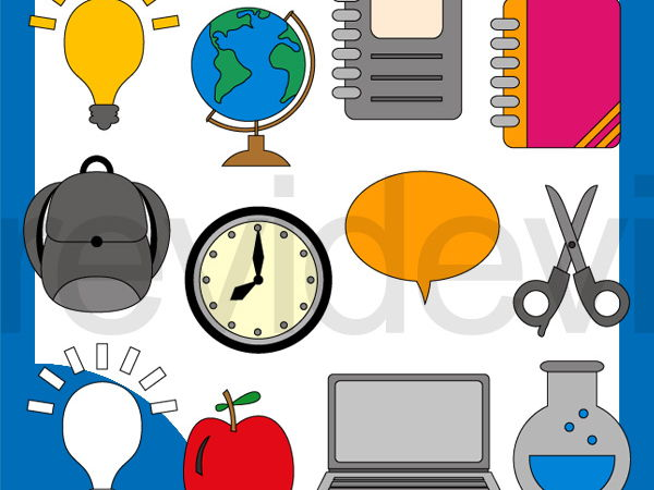 Back to school clip art - Education today clipart