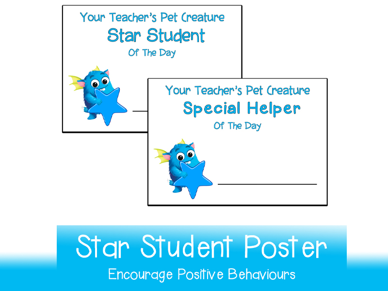 Star Student Helper Poster | Printable A3 and A4