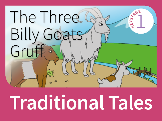 Three Billy Goats Gruff - Underdog Tales (Traditional Tales)