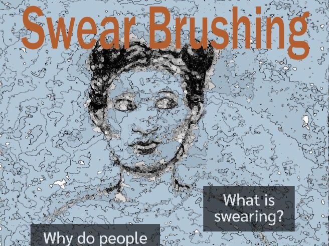 Swear Brushing Poster and Activity (US)