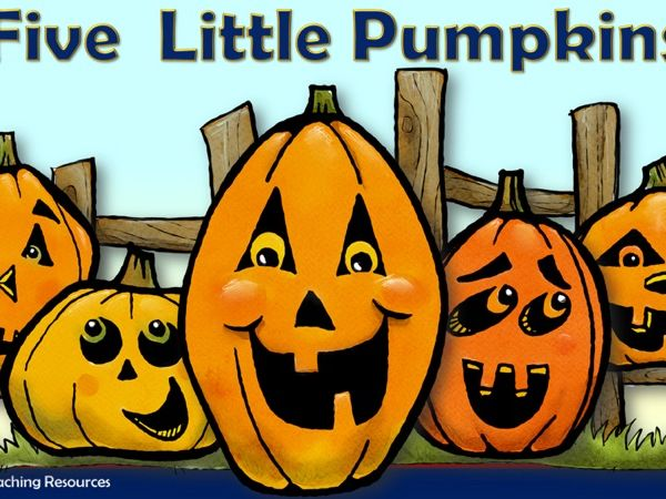 Five Little Pumpkins Rhyme