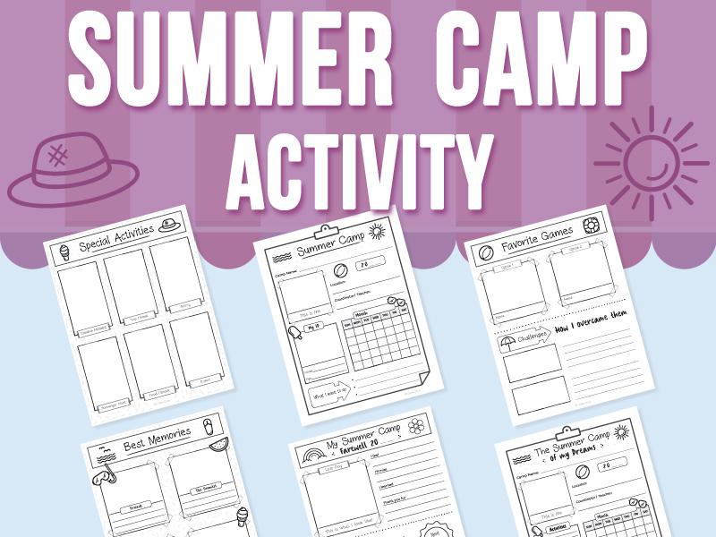 Summer Camp Activity
