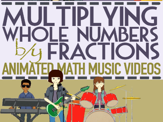 Multiplying Fractions by Whole Numbers: KS2 Song