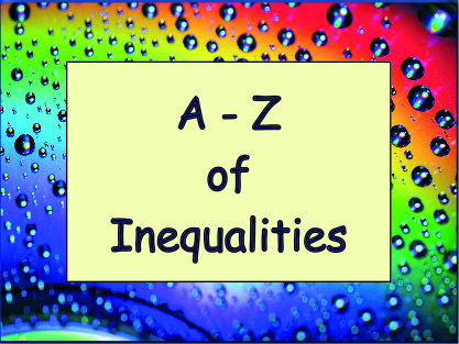The A - Z  of GCSE Inequalities