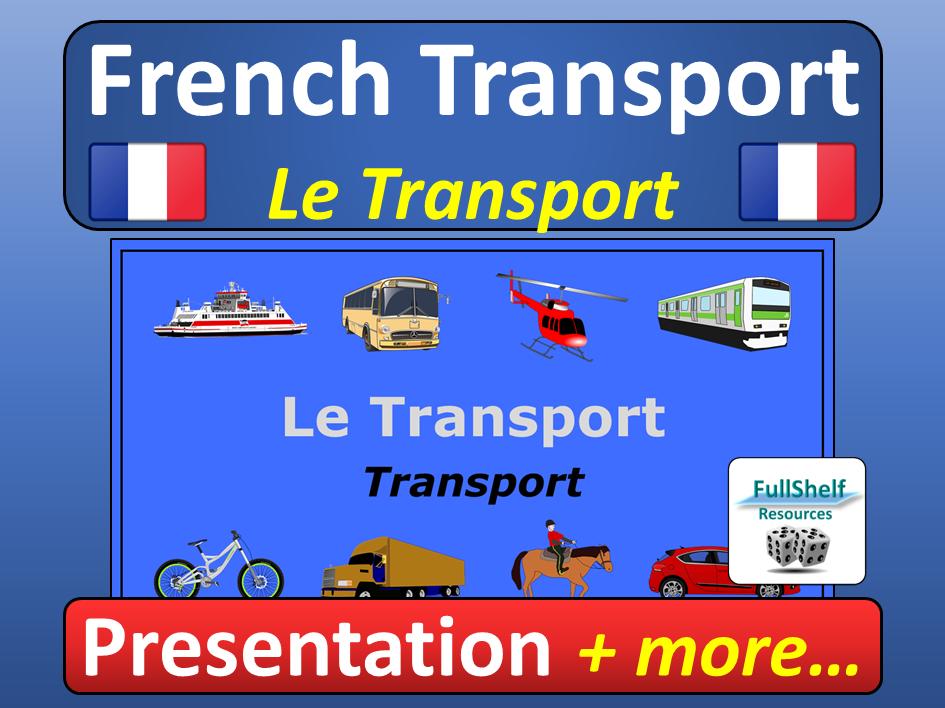 French Transport Presentation