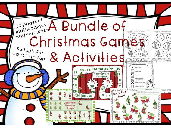 Christmas Maths Games
