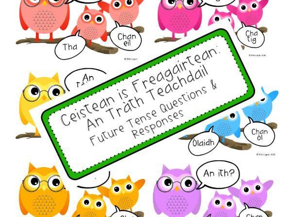 Caillich-oidhche an Trath teachdail (Future Tense Owls)