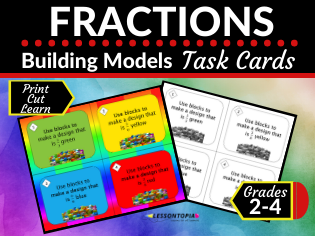 Building Fraction Models (Home Learning, Distance Learning)